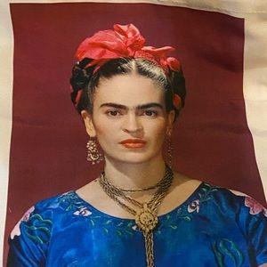 Frida Kahlo Canvas Tote
